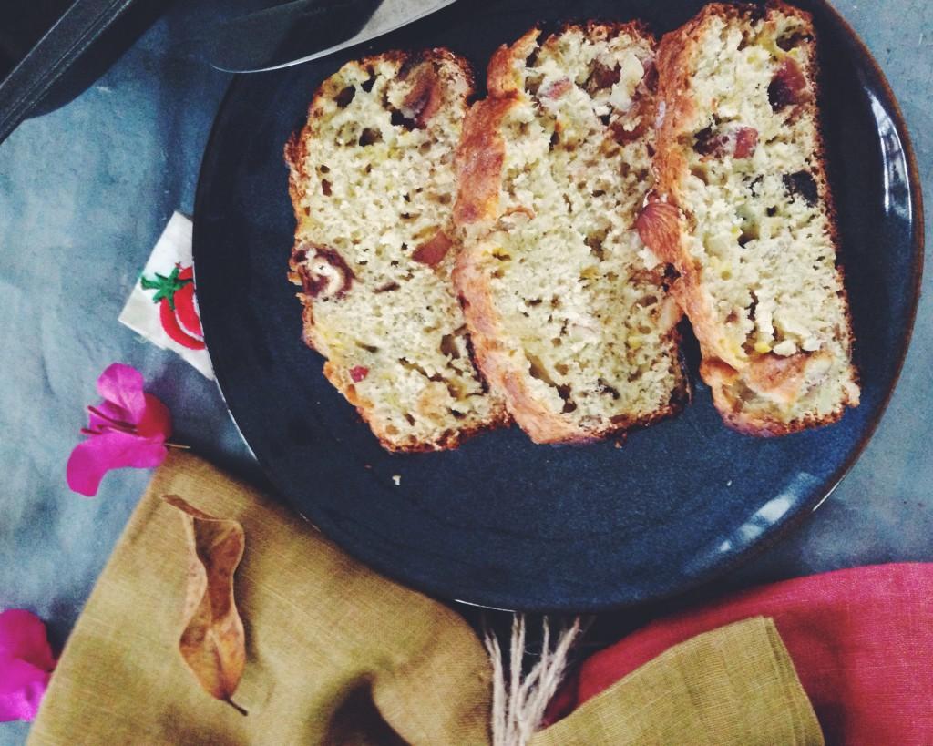 Nutty Banana Bread - 1Qfoodplatter Nigerian Food Blog