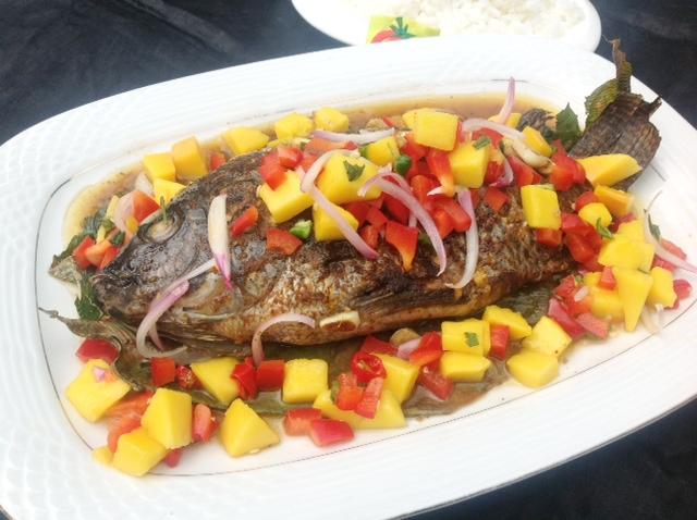Baked Tilapia with Mango Salsa | Top Nigerian Food Blog