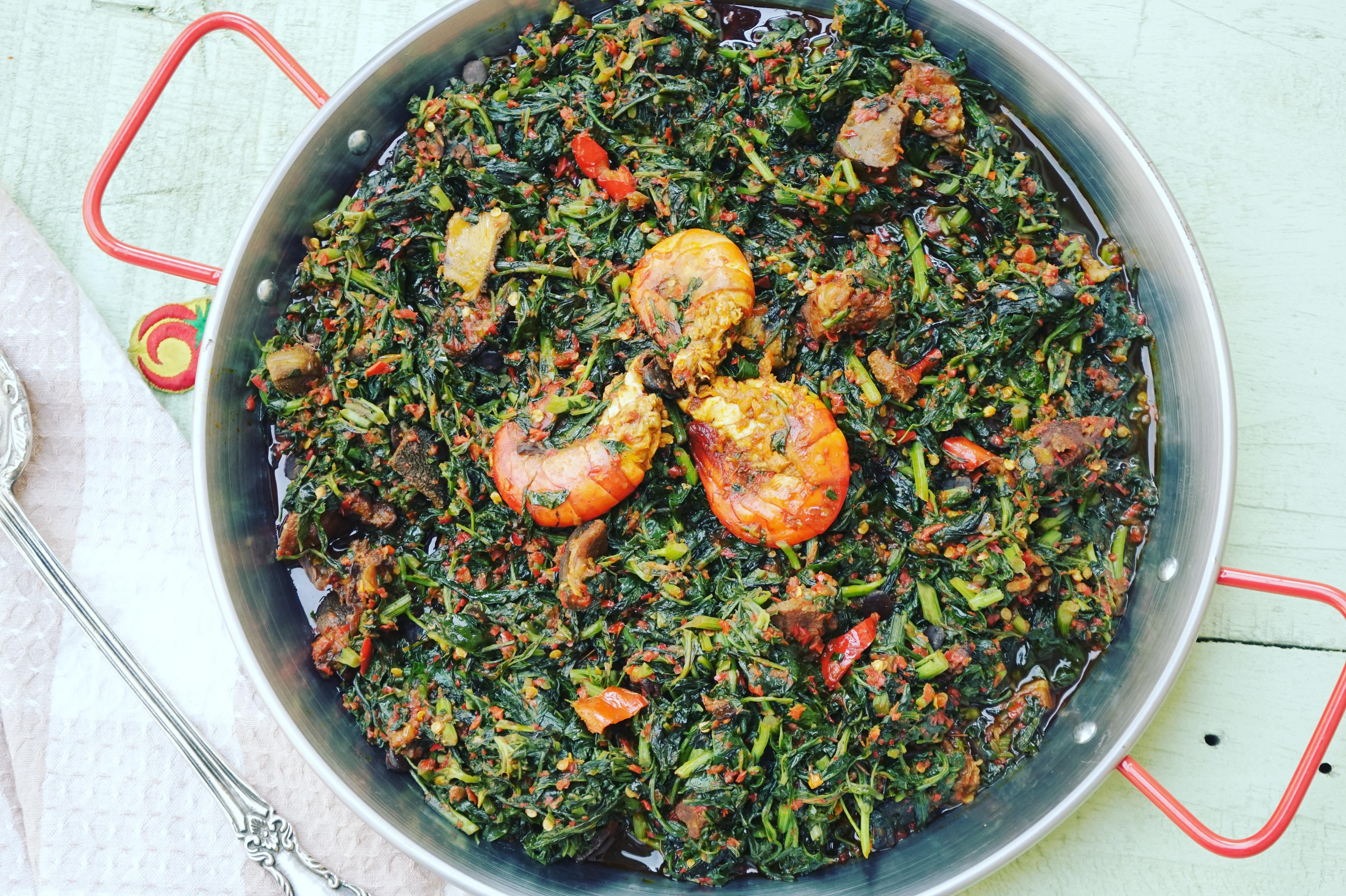 How To Make Efo Riro Top Nigerian Food Blog