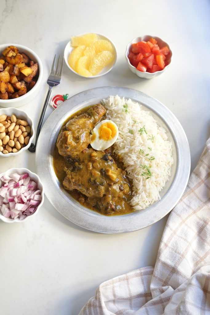 how to make Chicken Curry Sauce with white rice.