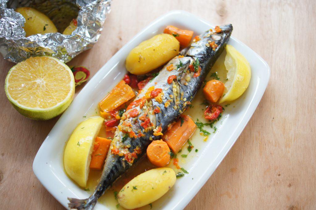 Mackerel Fish In Orange Sauce Top Nigerian Food Blog
